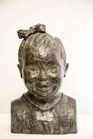 'De schoonheid van Da(o)wn', brons, h.25 cm.